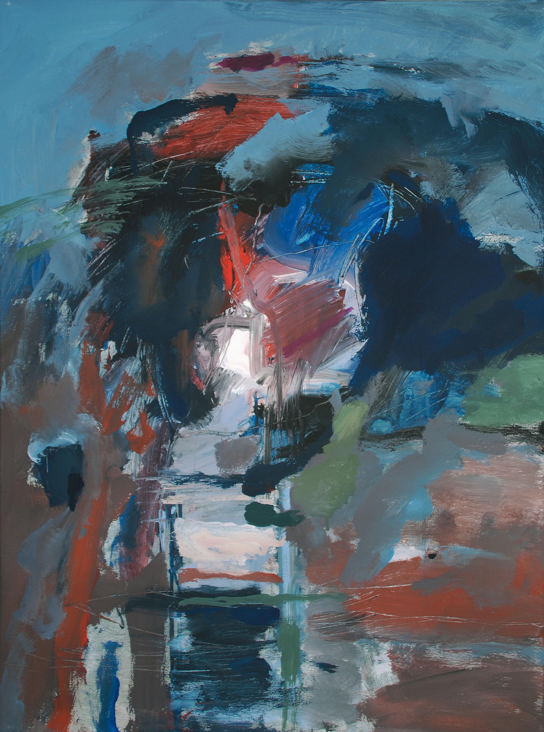 9. motiv, 80 x 60 cm, acryl/leinen