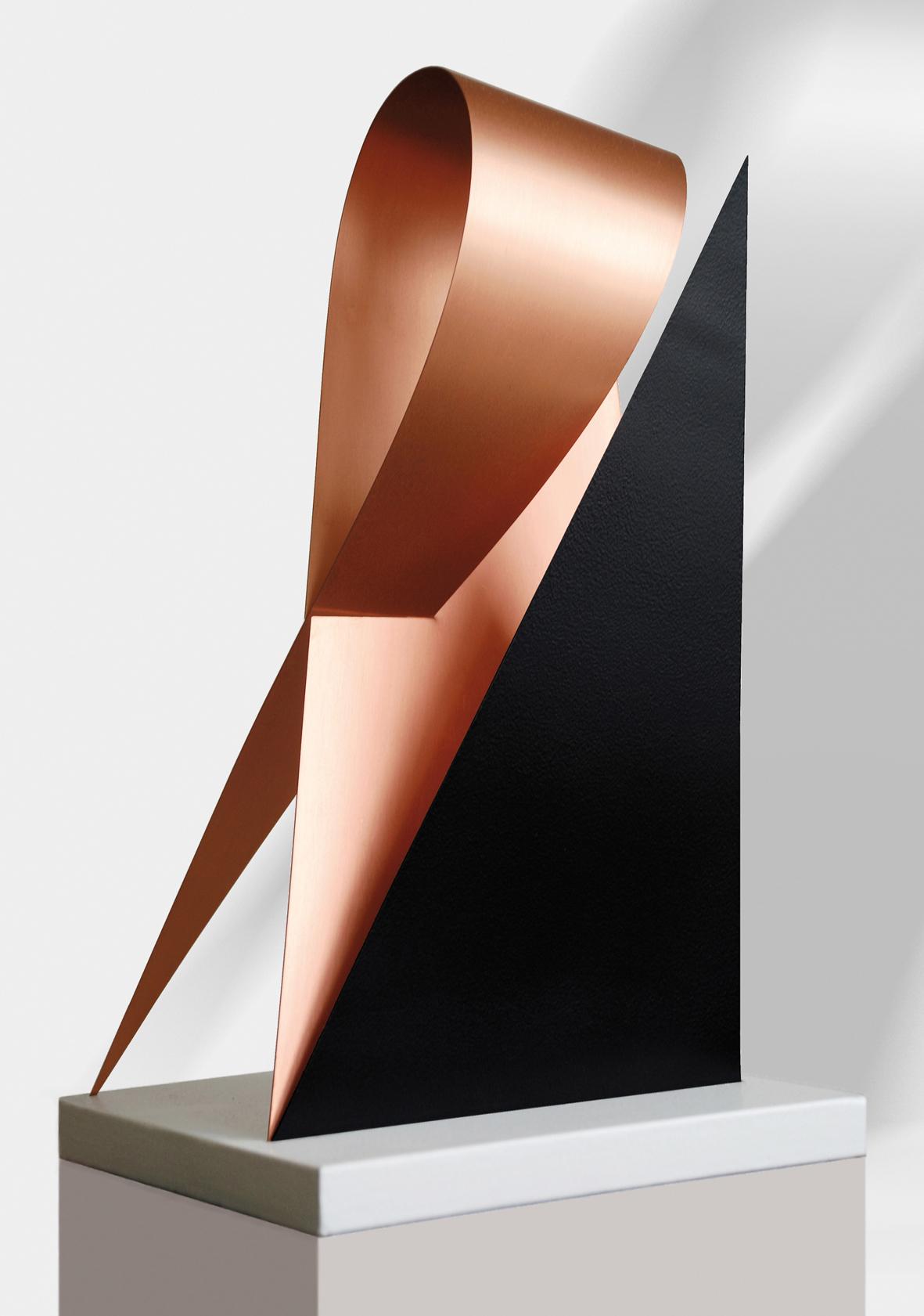 8. motiv, höhe 33 cm, kupfer m. einfärbung