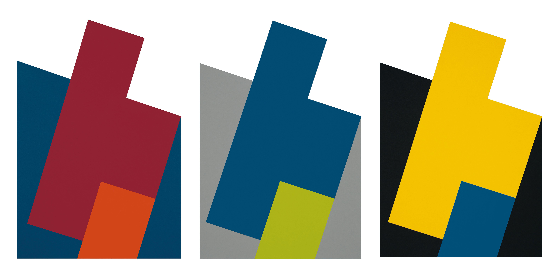 7. a/b/c motiv, je 44 x 30 cm, farb. karton